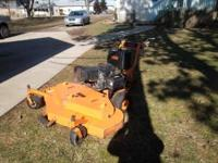 Selling the last of our commerical mowers. This is a