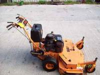 "Scag 48"" 14hp kaw. commercial mid-size walk behind gear"