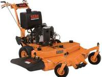 -SCAG POWER WALK-BEHIND MOWER SPECS: MODEL: