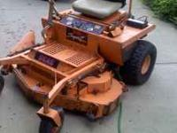 commercial / professional grade lawn mower scag ssz