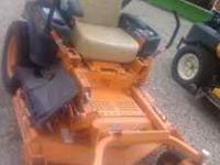 FOR SALE 2007 SCAG TIGER-CUB ZERO-TURN MOWER 475 HOURS,