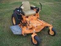 "48"", 19hp Kawasaki, Commercial grade. Very good"