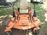 Have a Scag Turf Tiger with 27Hp Kohler pro engine, 61""