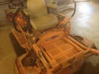 I have a 1998 Scag Turf Tiger 61'' Zero Turn for sale.