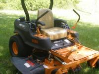 THIS IS A 2009, COMMERCIAL, FREEDOM Z MOWER WITH A VERY