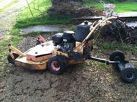 I have a belt driven Scag Zero Turn mower for sale. It