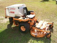 up for sale is this scag 48 zero turn mower runs fine