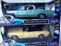 Collectible 1:18 die-cast cars, Special Edition Qty: