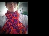 We have some beautiful hand made scarfs for adults and