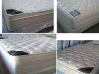 QUEEN Pillowtop Mattress and Boxspring (NEW in Plastic)