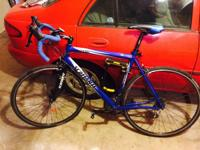 Scattante 57cm roadway bike for sale. 700x25 tires, 105
