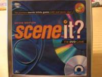 "NEW NEVER USED STILL IN PACKAGES "" SCENE IT ? "" DVD"