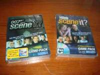 There is two Brand NEW Scene It DVD's that haven't been