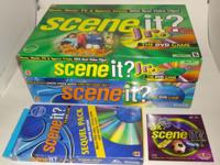 Up for sale is a set of Scene it? The DVD Game Board