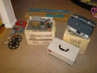 For sale is a VINTAGE Scenette DeJur MV PT45 Projector,