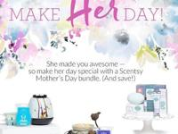 Scentsy offers a full range of smell-good items for