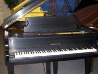 "Schafer & Sons 5'1"" Baby Grand piano in ebony satin"