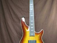 We are selling this Schecter 4 string bass guitar--This