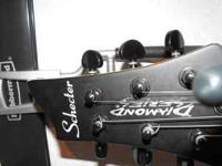 Used Schecter, diamond Series, electric guitar works