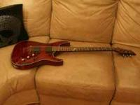 Selling my Hardly used Schecter Hellraiser.. Its in