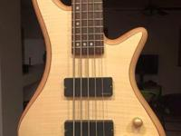 Looking to get rid of this 5 string bass. The neck just