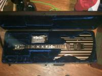 I have a Schecter Synister Gates Custom for sale. Its