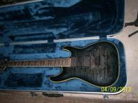 Schecter Hellraiser with Floyd rose tremolo , locking