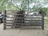 "12' x 5' 5 RAIL SCHEDULE 40 PIPE PANELS - $85 10'9"" x"