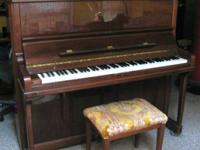 Schimmel upright in very fine shape for sale by owner