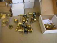 Schlage lock sets, dead bolts, passage sets and more.
