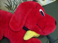 I have a wonderful Clifford the Big Red Dog Plush,