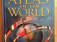 Brand New! Gift Quality! Scholastic Atlas Of The World