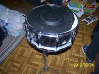 I have a snare drum with stand.  It also has the sound