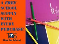 New School Uniforms! A FREE school supply with ever