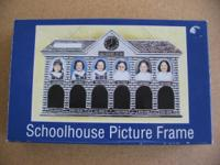 Two schoolhouse picture frames. See how much they