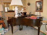 Carl Schirmer Baby Grand Piano This Baby Grand Piano