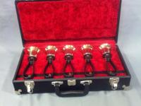 Type: Handbells GORGEOUS SET OF SCHULMERICH HANDBELLS.