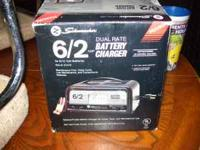 I have a Schumacher 6/2 AMP Dual Rate Battery Charger