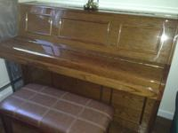 Schumann upright Piano = 700.00 In excellent condition