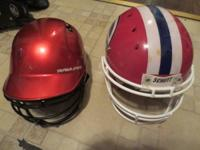 Shutt Evangel Football Helmet is $40 OBO. Rawlings