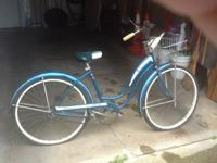 Nice Schwinn fiesta bike for sale. Tires are flat from