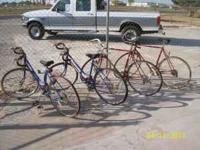 Buy one Schwinn at asking price and get a Huffy ladies