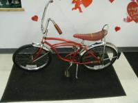 Vintage Schwinn stingray nice shape for more info call