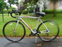 "Schwinn 19"" Road Bike, 14 spd. Shimano, less than 10"