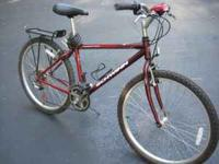 "Like new 21 speed 26"" Schwinn Frontier mountian bike."