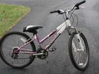 "Like new Schwinn 24"" Girl's Ranger Bike with 7 speeds."