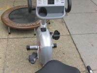 SCHWINN 250 RECUMBENT BIKE, like new, $199. . NO EMAILS