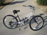 "Schwinn, Jaguar 26"" ladies 7 speed, front and rear"