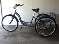 Adult Comfort Cruiser Bike Tricycle BLUE Schwinn