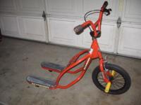 1990's rare Schwinn 'Gladiator' hybrid bike/scooter.